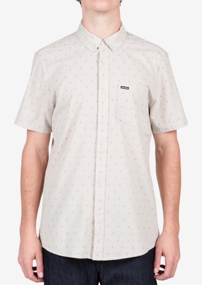 Volcom Men's Short-Sleeve Zeller Shirt