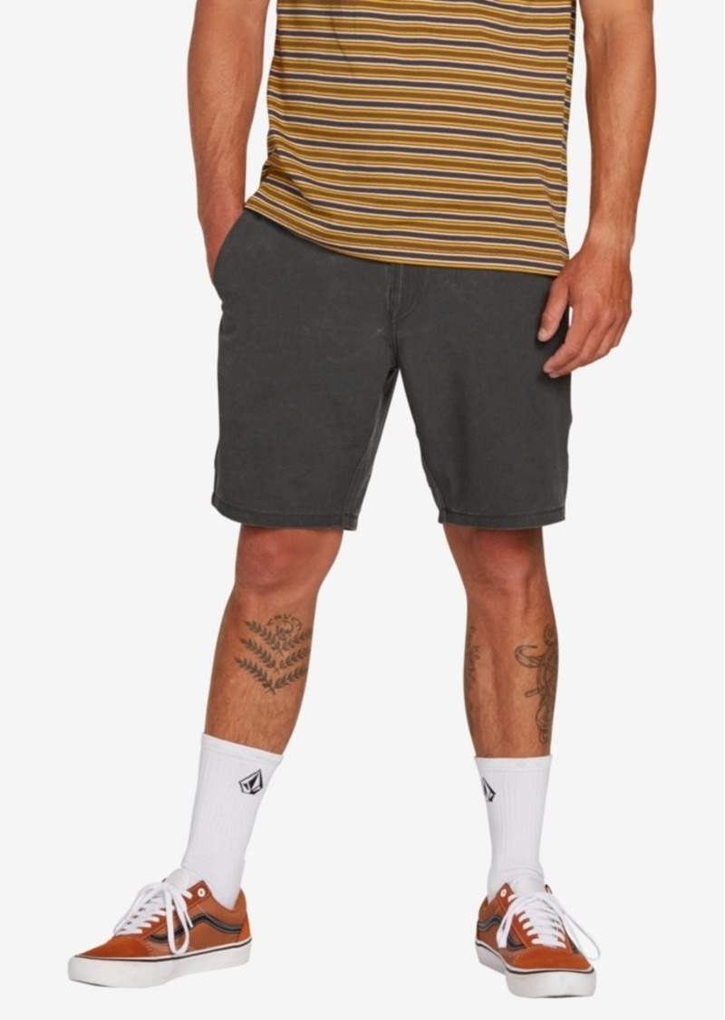 "Volcom Men's Snt Faded 19"" Hybrid Shorts"