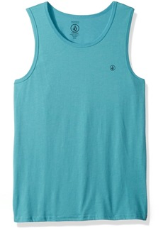 Volcom Men's Solid Emblem Tank Top  S