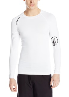 Volcom Men's Solid Long Sleeve Rash Guard