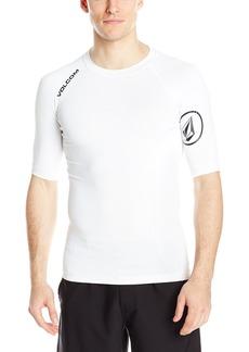 Volcom Men's Solid Short Sleeve Rashguard