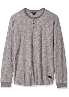 Volcom Men's Standard Moxie Long Sleeve Henley Shirt  M