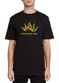 Volcom Men's Stone Break Logo Graphic T-Shirt