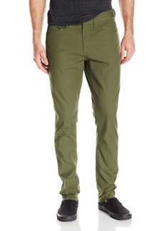 Volcom Men's Stone Made Gritter Tapered Canvas Chino Pant  32