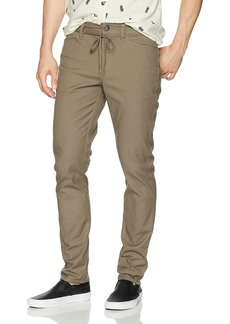 Volcom Men's Stone Made Gritter Tapered Canvas Chino Pant