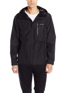 Volcom Men's Stone Storm Rainbreaker Hooded Jacket  S