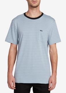 Volcom Men's Striped Pocket T-Shirt
