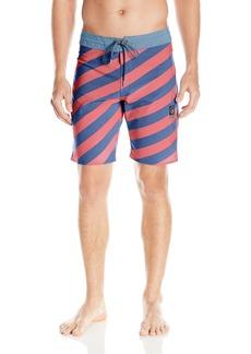 """Volcom Men's Stripey Slinger 19"""" Boardshort"""