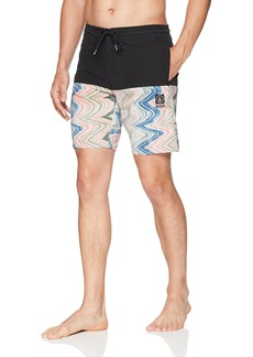 "Volcom Men's Vibes Half Stoney 18"" Boardshort  XL"