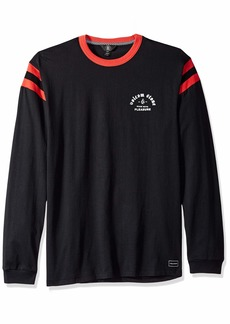 Volcom Men's Wagners Knit Crew Long Sleeve Vintage Inspired Shirt  Extra Large