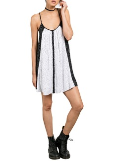 Volcom Mix A Lot Trapeze Slipdress