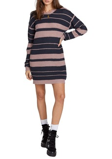 Volcom Move On Up Long Sleeve Sweater Dress