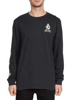 Volcom New High Score Long Sleeve Graphic T-Shirt