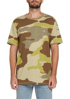 Volcom Peace Squad Camo Print T-Shirt