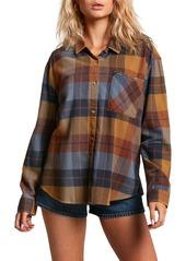 Volcom Plaid to Meet U Flannel Shirt