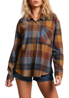 Volcom Plaid to Meet U Flannel Shirt