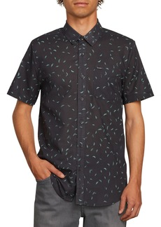 Volcom Quency Print Camp Shirt