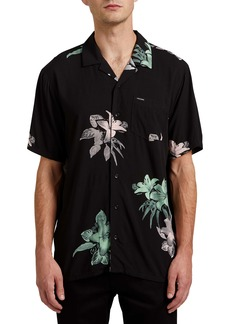 Volcom Richardt Floral Short Sleeve Button-Up Shirt