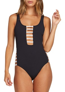 Volcom Simply Rib One-Piece Swimsuit