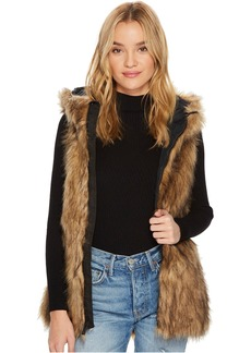 Rhea Faux Fur Vest