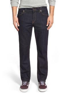 Volcom Solver Denim Pants (Blue Rinse)