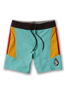 Volcom Stained Glass Board Shorts (Toddler & Little Boy)