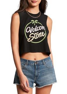 Volcom Stone Hour Crop Graphic Tank