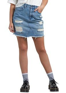 Volcom Stoned Denim Skirt