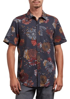 Volcom Stoney Delusion Short Sleeve Woven Shirt
