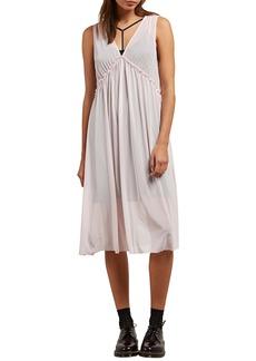 Volcom Stratum Layered Midi Dress