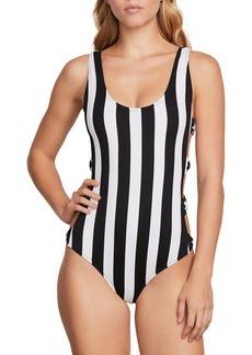 Volcom Stripe Club One-Piece Swimsuit