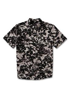 Volcom Striver Print Short Sleeve Button-Up Shirt