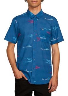 Volcom Sub Phase Patterned Woven Shirt