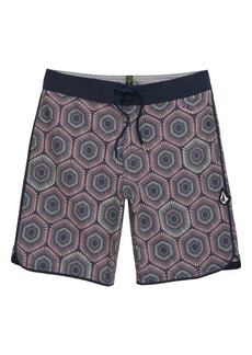 Volcom Sun Medallion Board Shorts (Big Boy)
