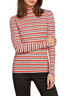 Volcom Tail Slide Stripe Mock Neck Tee