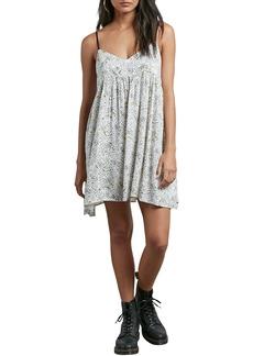 Volcom Thx It's a New Dress Babydoll Dress