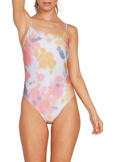 Volcom Tie Dye For One-Piece Swimsuit
