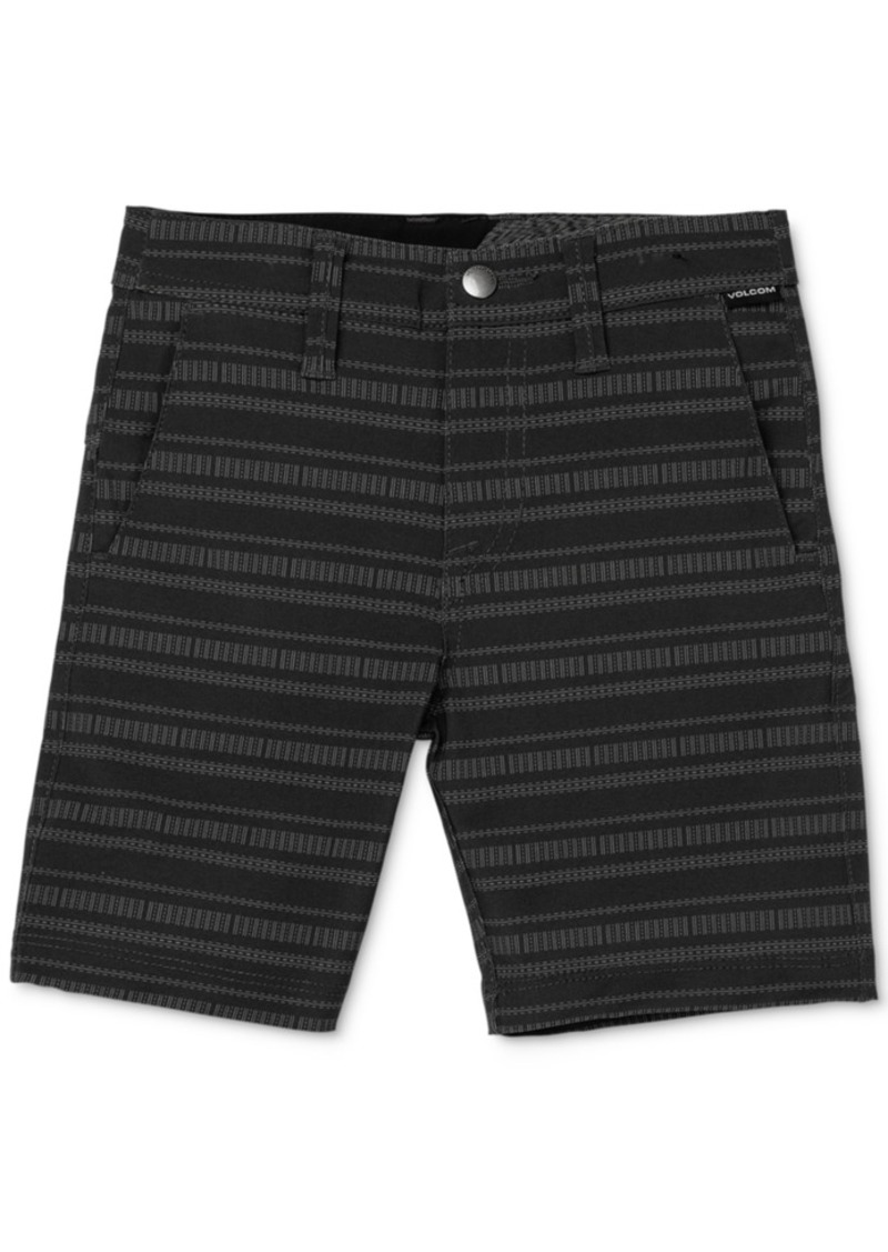 Volcom Toddler & Little Boys Quick-Drying Striped Shorts