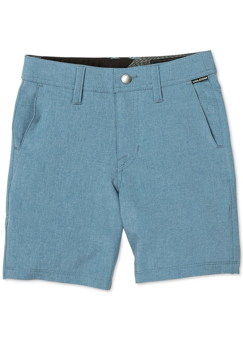 Volcom Toddler & Little Boys Surf N' Turf Static Shorts