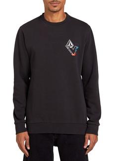 Volcom V-Line Washed Fleece Sweatshirt