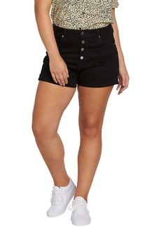 Volcom Vol Stone Denim Shorts (Plus Size)