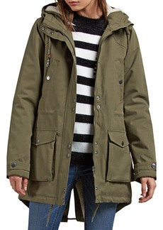 Volcom Walk On By Hooded Parka