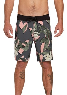 Volcom Window Pane Mod 19 Board Shorts