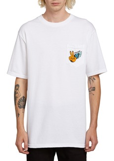 Volcom Winged Peace Longline Pocket T-Shirt