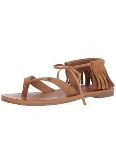 Volcom Women's All Access Gladiator Fashion Flat Sandal  10 B US