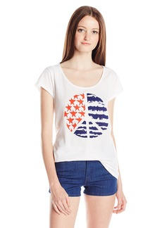 Volcom Junior's Americana Peace Graphic T-Shirt