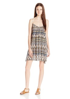 Volcom Women's Back for U Printed Dress