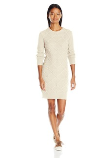 Volcom Women's Chained Down Relaxed Fit Mini Sweater Dress