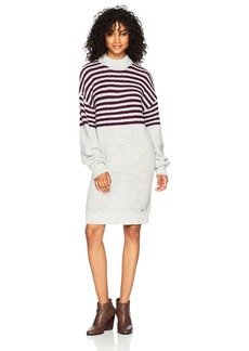 Volcom Women's Cold Daze Sweater Dress HGR XS