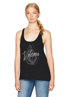 Volcom Women's Cruize It Twisted Back Tank Top  XS